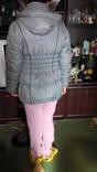 Продам зимний серый пуховик на девочку photo 3