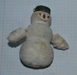 Снеговик из  папье маше, фото №2