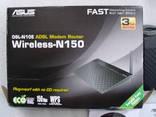 Роутер ASUS dsl-n10e.WI-FI + Зарядное для аккумуляторов photo 2