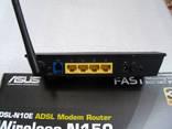Роутер ASUS dsl-n10e.WI-FI + Зарядное для аккумуляторов photo 4