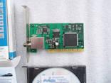 PCI-плата «TT budget S-1401» — цифровой спутниковый ТВ ресивер photo 2