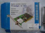 PCI-плата «TT budget S-1401» — цифровой спутниковый ТВ ресивер photo 3