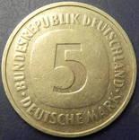 5 марок ФРН 1986 D, фото №2