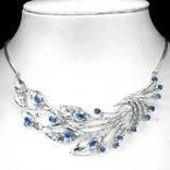 Ожерелье с сапфирами, фото №2