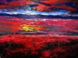 Возний В. Картина Море і маки. Олія полотно 40х50 photo 7