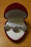 Серебро.Кольцо и серьги., фото №2