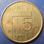 5 центів Нідерланди 1982, фото №3