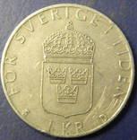 1 крона Швеція 1990, фото №3