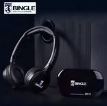 Безпроводные наушники Bingle с ФМ модулятором.