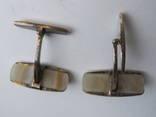 Запонки из СССР серебро 875 photo 5