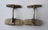 Запонки из СССР серебро 875 photo 6