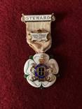Знак Стюарда RGMI 1932 года.