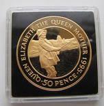 50 пенсов 1995 год остров АСКЕНСИОН (Вознесения) золото 47,54 гр. 917` тираж-150
