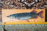"""Продам рыбу """"Esox Lusius"""" ручная работа, красота, как живая photo 1"""