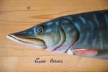 """Продам рыбу """"Esox Lusius"""" ручная работа, красота, как живая photo 2"""