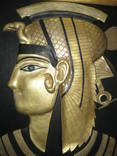 """Картина из натуральной кожи """"Клеопатра"""", фото №3"""