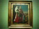 Икона Дмитрий Солунский в киоте photo 1