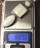 Кулон адуляр лунный камень, фото №8