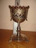 Настольная лампада, изготовленная поставщиком Императорского двора, фото №2