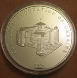 Памятная медаль 15 лет федерации футбола Украины серебро 925 пробы, 62,2грама photo 3