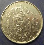 1 гульден Нідерланди 1978, фото №2