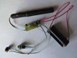 Пинпоинтер гном, электроника + держатель батареек (есть видео)