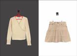 Лот детских вещей №8. Сфитер Lidia Jane и юбка GAP.