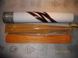 Ароматические палочки (ваниль) в металлической баночке с деревянной подставкой photo 5