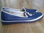 Шкіряні літні туфлі photo 1