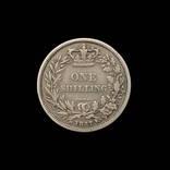 1 Шиллинг 1857 Виктория, Великобритания photo 1