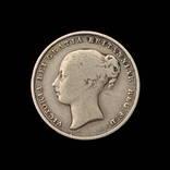 1 Шиллинг 1857 Виктория, Великобритания photo 2