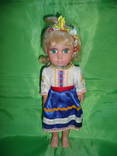Кукла Паричковая. Высота 28см. photo 1