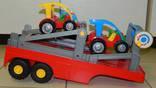WADER Большая фура автовоз в коробке photo 16