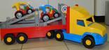 WADER Большая фура автовоз в коробке photo 25