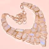 Ожерелье из лунного камня 700 карат, фото №2