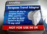 Переходник сетевой EU\UK 10 Ампер photo 5