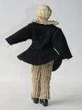 Старинная кукла пастушок в соломенной шляпе  с фарфоровой головой ., фото №9