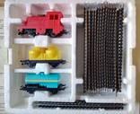 Детская железная дорога, колея 16,5 мм, игрушка, 1992 г. photo 2