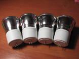Лампочки энергосберегающие для точечных светильников (Лот - 4 шт). photo 2