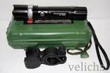 Фонарик аккумуляторный POLICE BL-T8626 99000 W с универсальным креплением photo 11