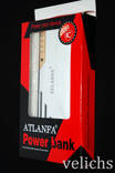 POWER BANK ''ATLANFA '' AT- D2016 12000 mAч 3 USB +фонарик photo 2