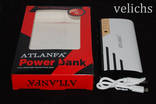 POWER BANK ''ATLANFA '' AT- D2016 12000 mAч 3 USB +фонарик photo 11
