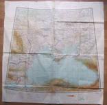 Бортовая аэронавигационная карта Киев 1950 года photo 3