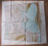 Бортовая аэронавигационная карта Киев 1950 года photo 4