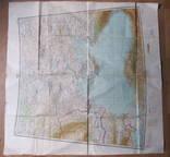 Бортовая аэронавигационная карта Киев 1950 года photo 5