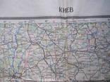 Бортовая аэронавигационная карта Киев 1950 года photo 7