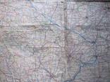 Бортовая аэронавигационная карта Киев 1950 года photo 8