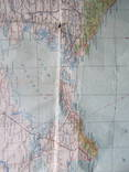 Бортовая аэронавигационная карта Киев 1950 года photo 9