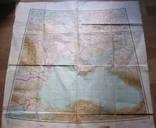 Бортовая аэронавигационная карта Киев 1950 года photo 11