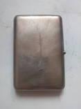 Портсигар серебро 84, фото №3